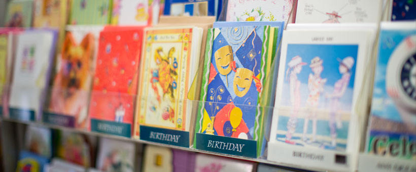 Greeting Cards, Office Supplies, & more.